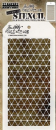 THS081 Stampers Anonymous Tim Holtz Layering Stencil - Diamonds
